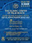 ICPB 1437/2016 Eidul-Adhaa Salah