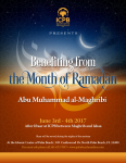 Seminar: Benefiting from the Month of Ramadan (June 1st-5th, 2017)