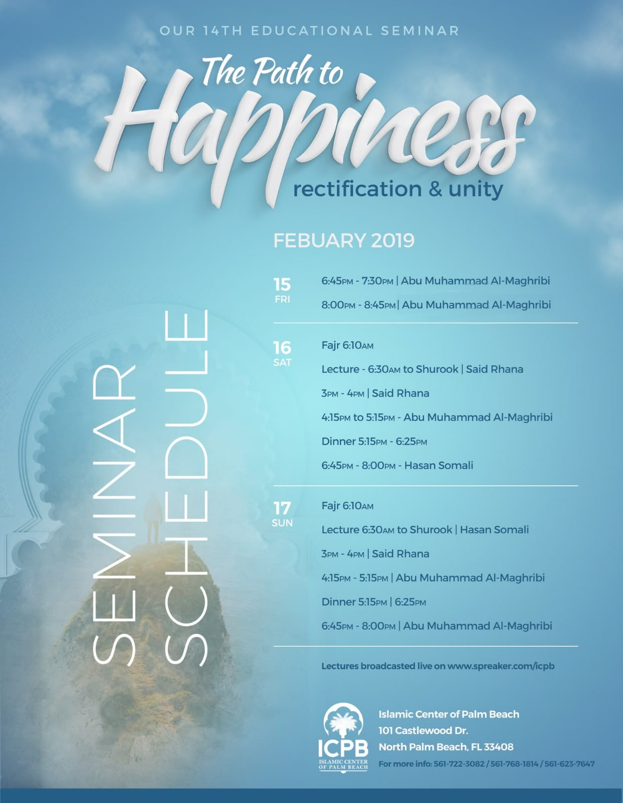ICPB February 2019 Seminar: The Path to Happiness, Rectification