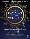 Preparing for Ramadan Live Online Workshop