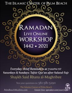 ICPB 1442 2021 Ramadan Workshop 1442 2021