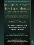 ICPB Seminar: Beneficial Advices for Every Muslim